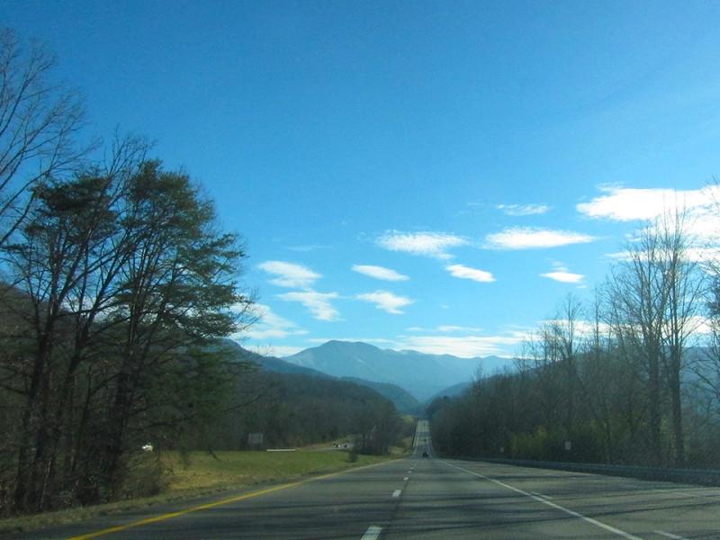mountains ahead