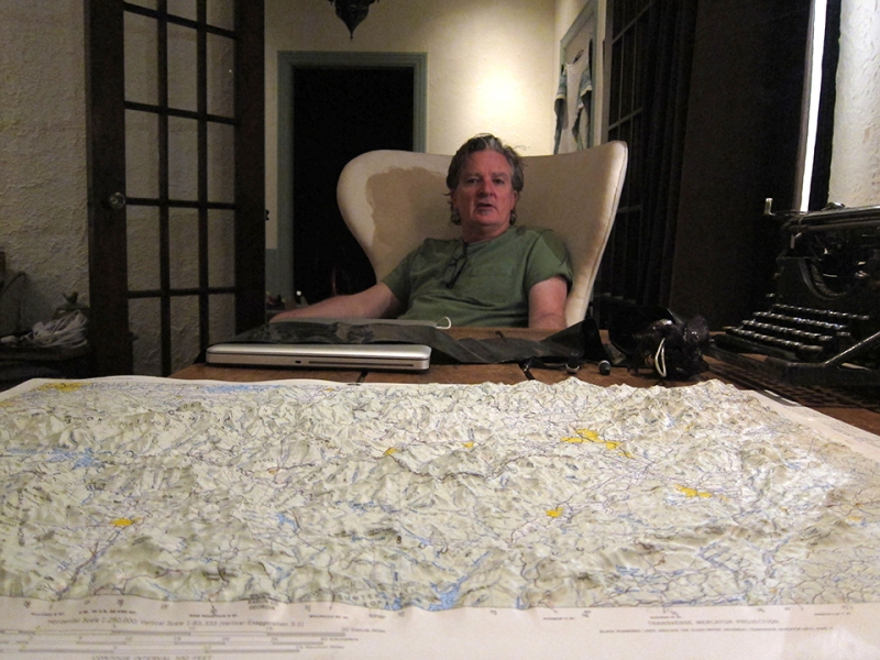 Paul with map