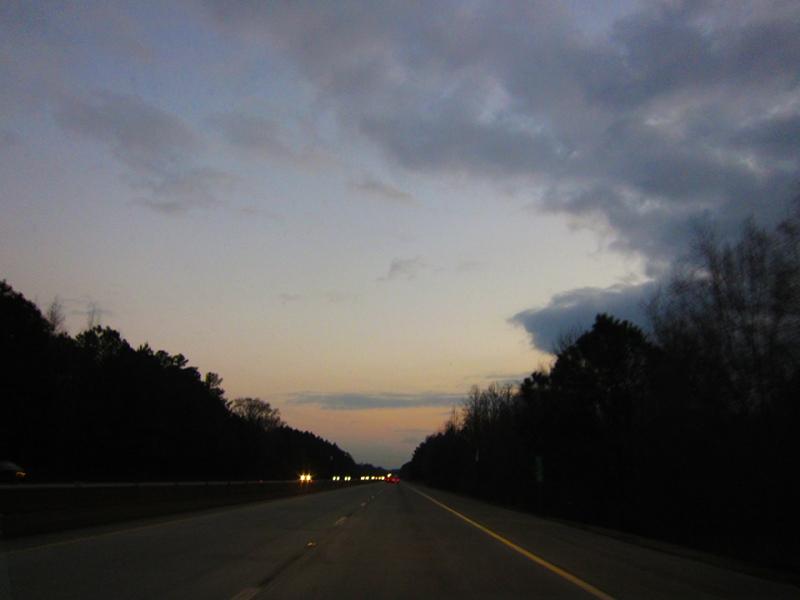 sunset NC
