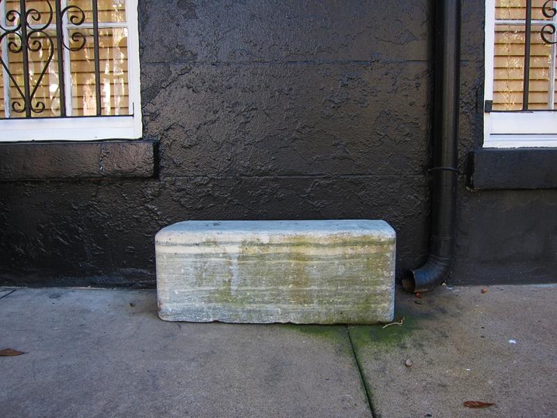 gutter stone