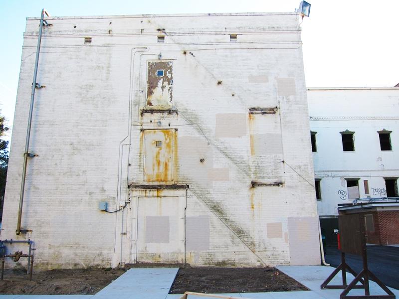 not so white building