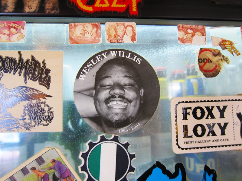 wesley willis is everywhere