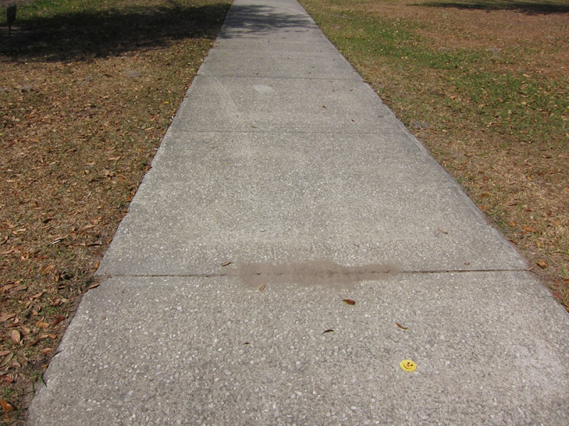smiley sidewalk