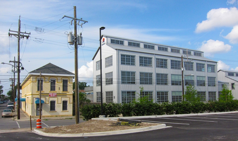 buildings in bywater