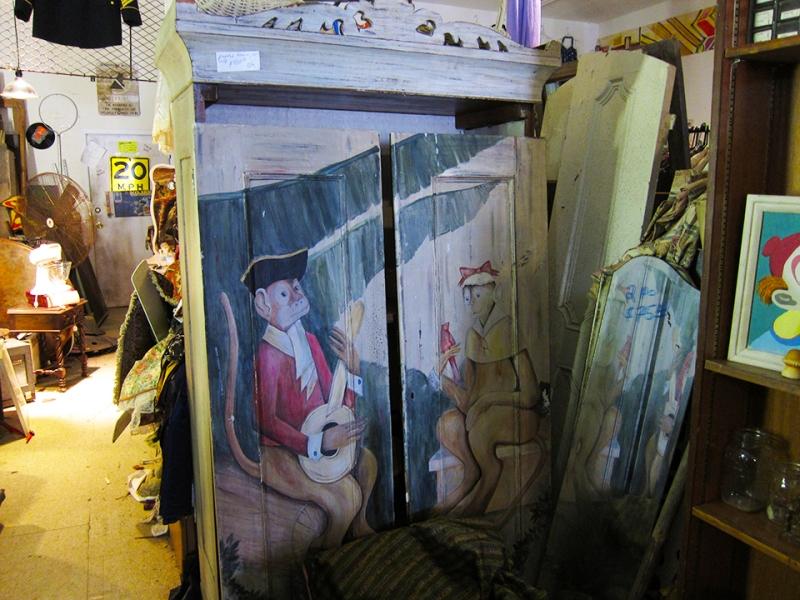 monkey armoire