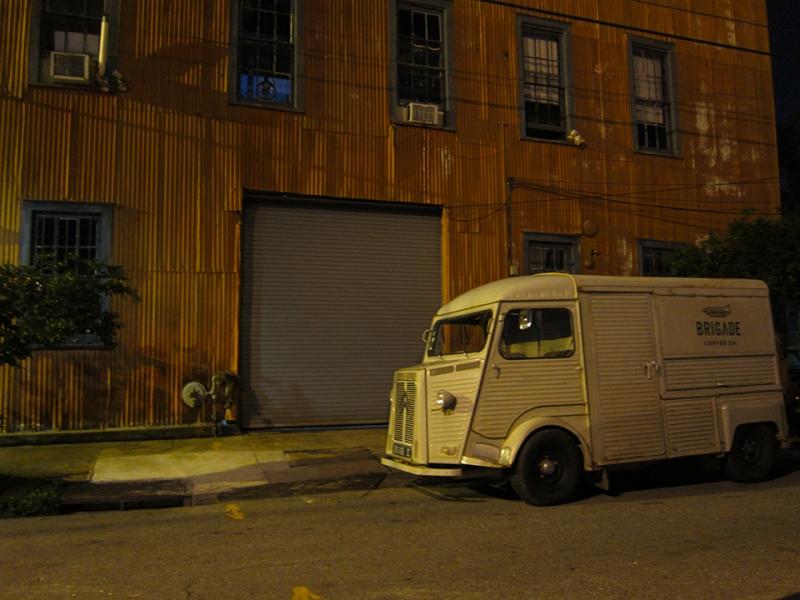 brigade coffee truck
