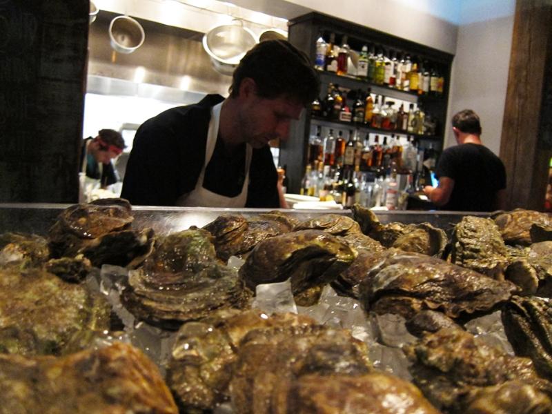 oysters at mariza