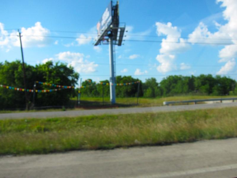 blurry colors roadside