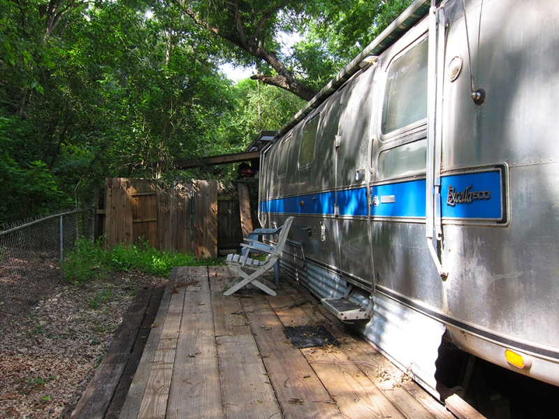 back yard airstream