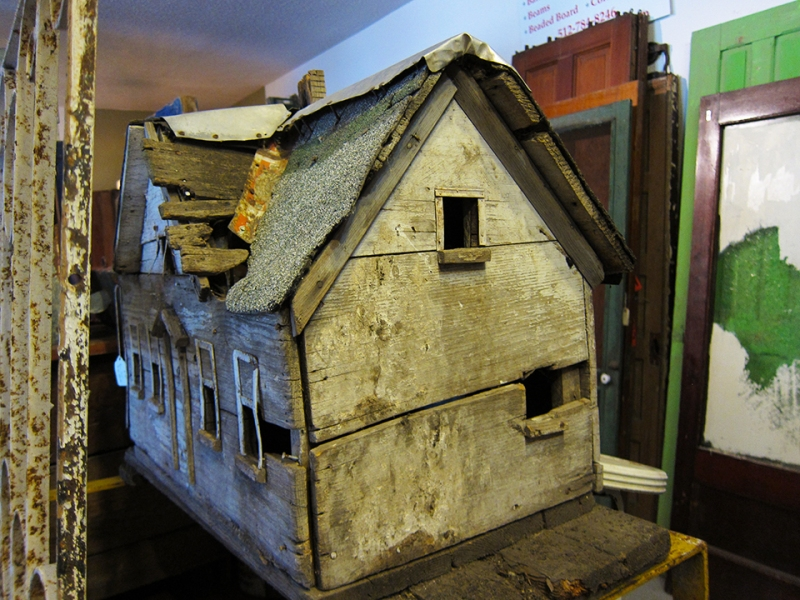 ghost town doll house