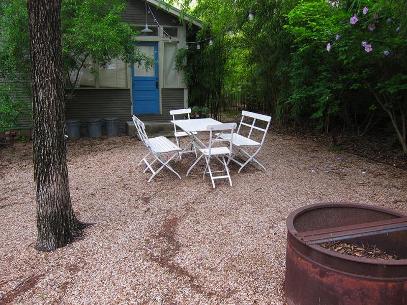 gravel yard