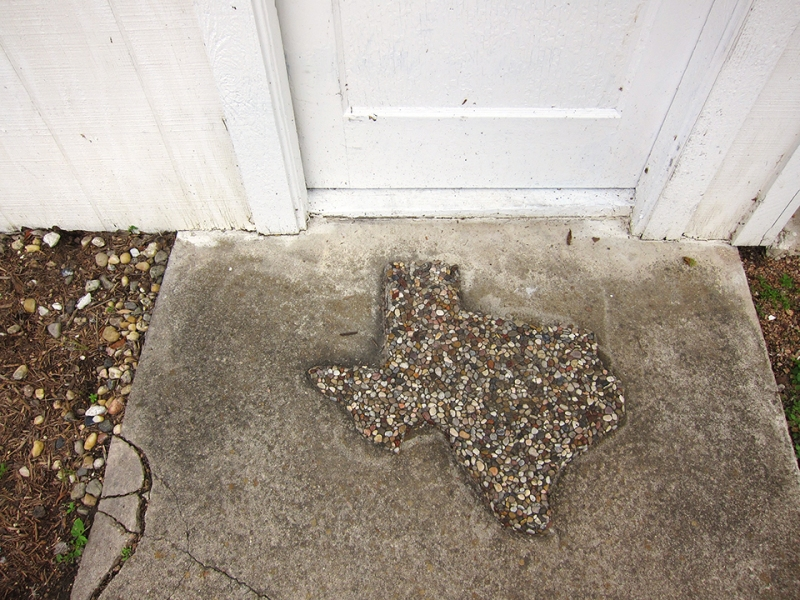 texas pebble doormat