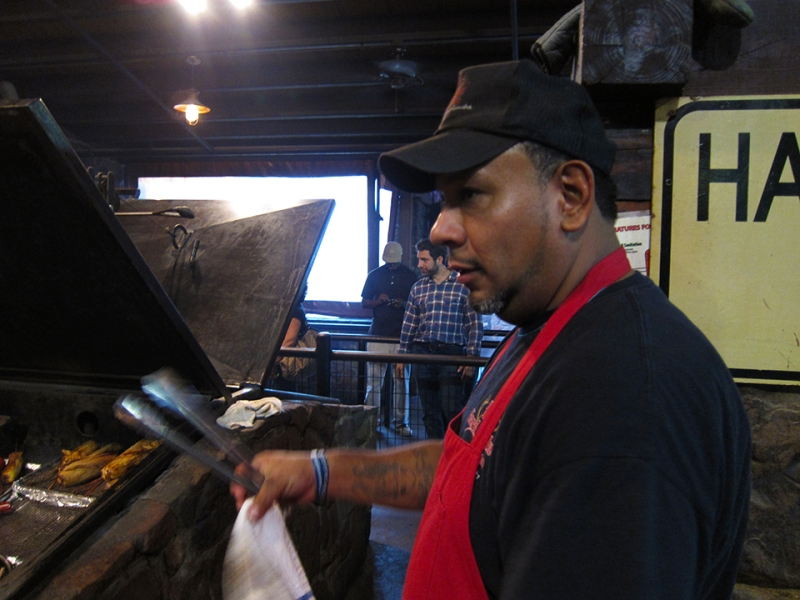 cook at the hard eight