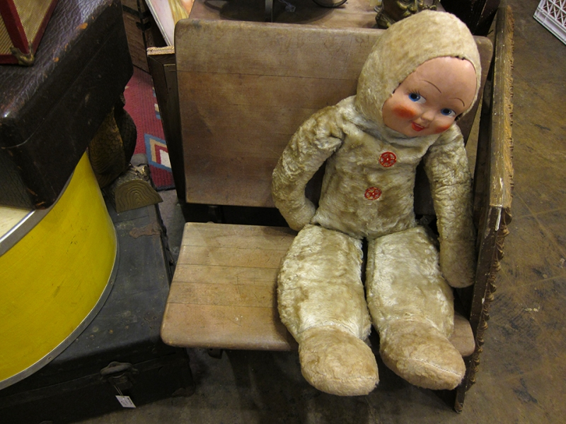 fur doll