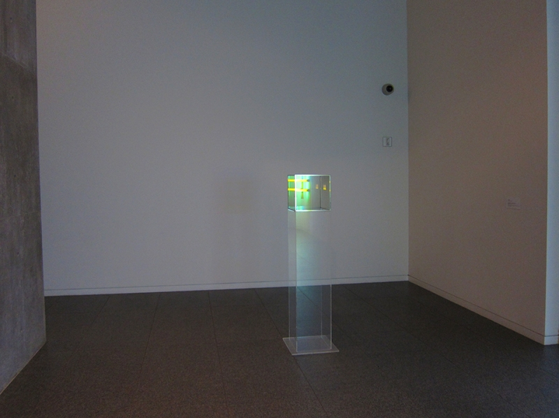 larry bell reflecting dan flavin