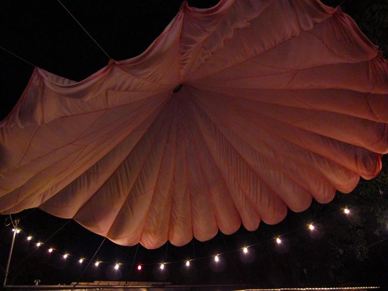 parachute ceiling 1